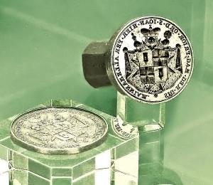 Original Siegelstempel des letzten Fürsten (1796)