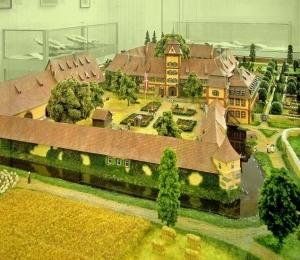 Bauzustand des Schlosses im Jahr 1773.