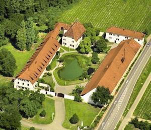 Weinstetter Hof, einst Sommersitz der Fürsten.