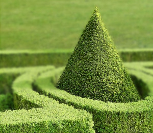 Der barocke Garten zeugt vom Kunstsinn der Herrscher.