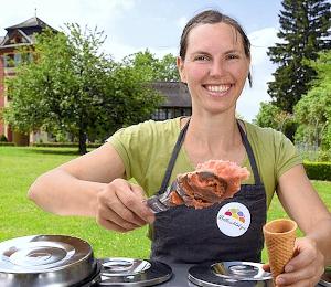 Bolleschlotzer-Eis von Eismacherin Caroline Dietsche