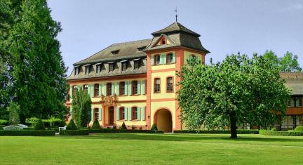 Schloss Heitersheim, ehemaliges Malteserschloss, Kanzleigebäude; Foto: Jürgen Goebel