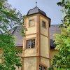 Kernburg, polygonaler Treppenturm, 16. Jh.
