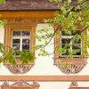 Im 16 Jahrhundert war der Schlosshof reich verziert.